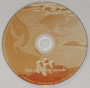 The Legend Of Zelda - Ocarina of Time - CD Banda sonora oficial arranged