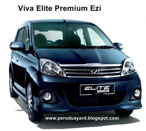 Perodua Promotion - Call 012-671 8757: Perodua Viva Elite