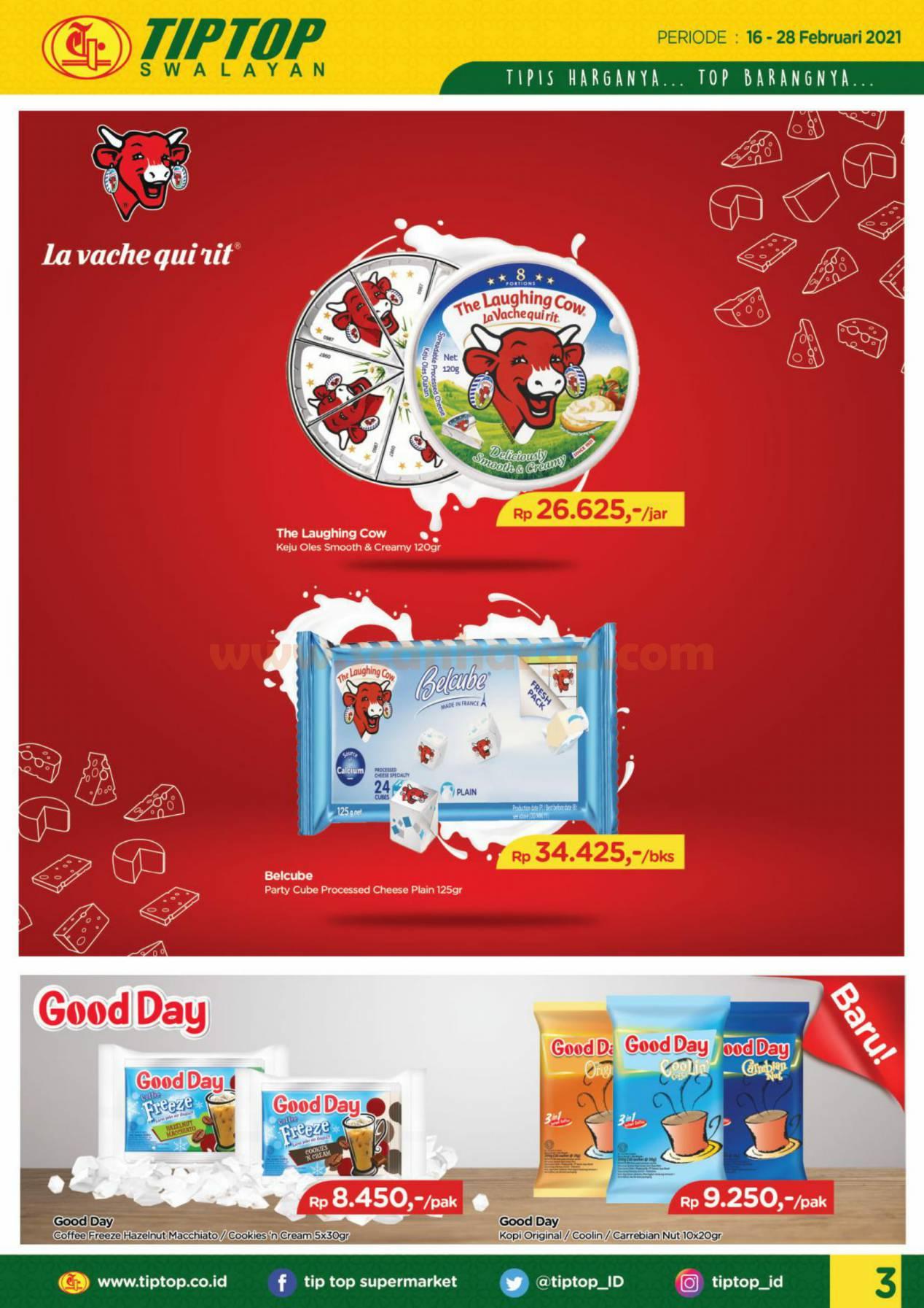 Katalog Promo Tip Top Pasar Swalayan 16 - 28 Februari 2021 3