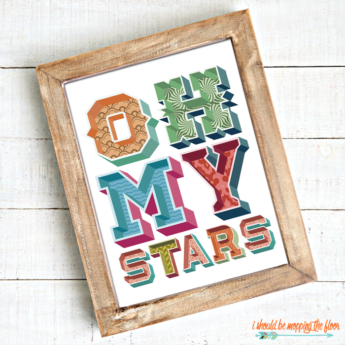 Oh My Stars Art