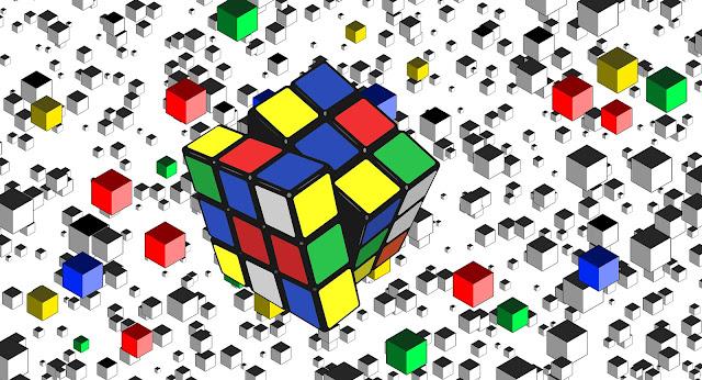 kubus rubik virtual online daring