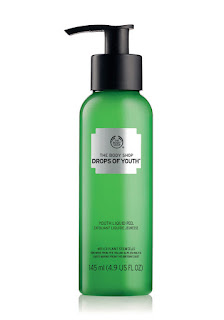 The Body Shop's Drops of Youth Liquid Peel, designed to tackle pollutants that penetrate the deeper layers of skin