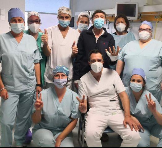Gianni Morandi torna a casa: le sue condizioni di salute sono buone