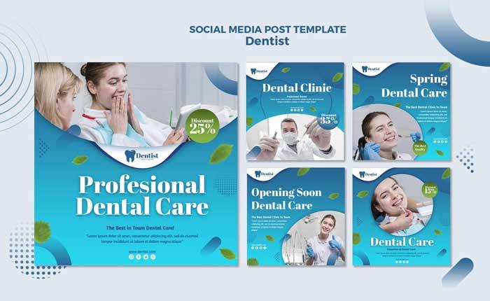 Design Social Media PSD Banner