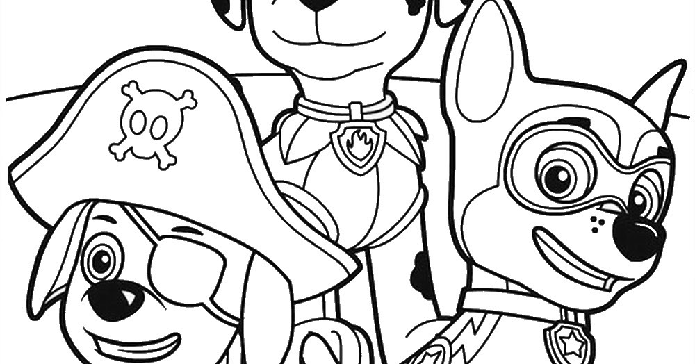 Versatile image with regard to printable paw patrol coloring pages
