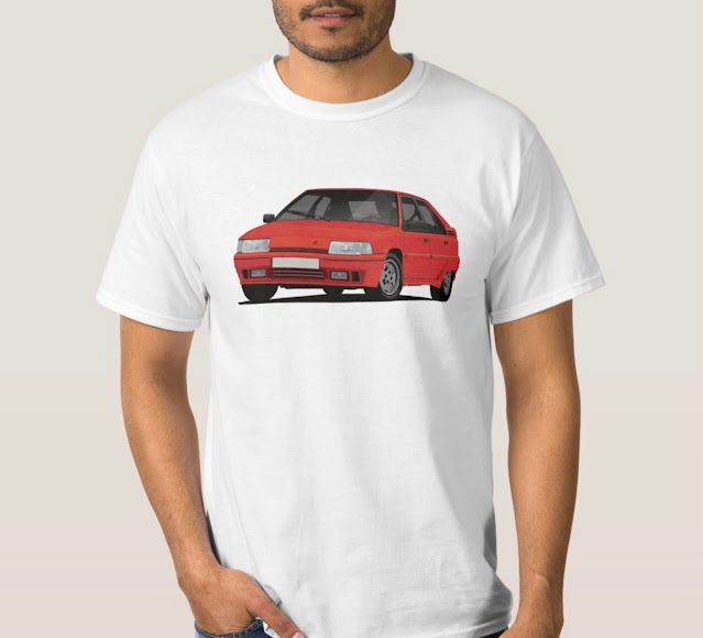 Citroën BX klassikkoauto paita