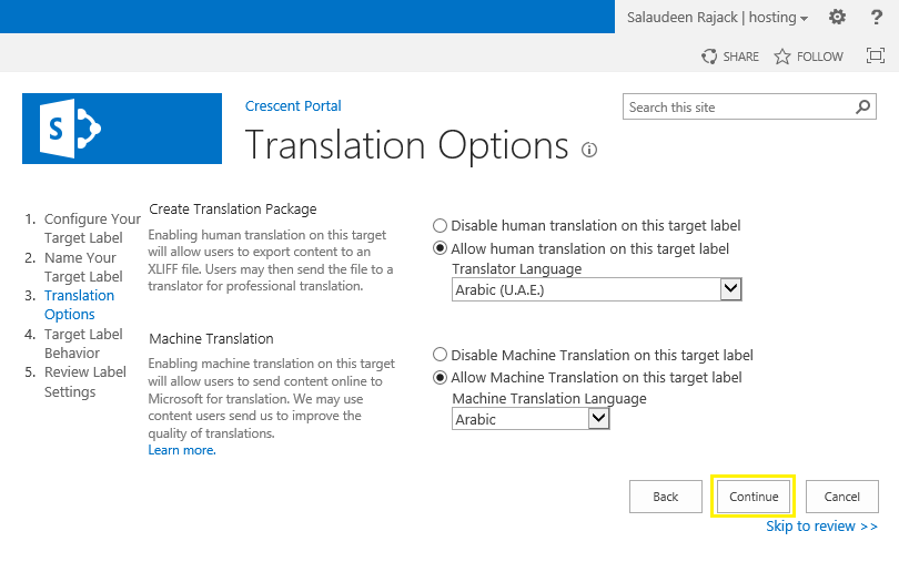 Configure Variations Feature in SharePoint 2013 - Step by Step