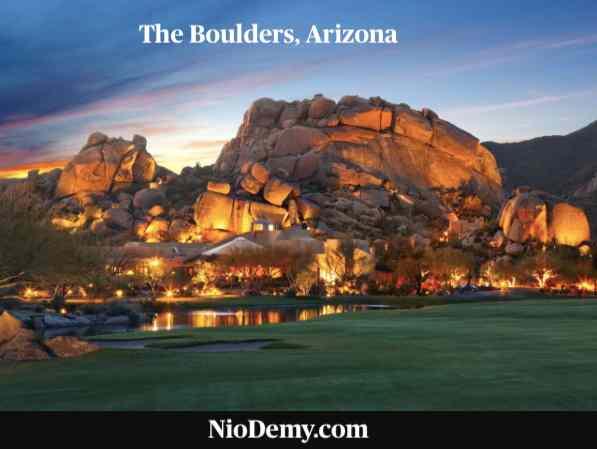 The Boulders, Arizona