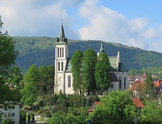 Kościół pw. św. Michała Archanioła w Mszanie Dolnej.