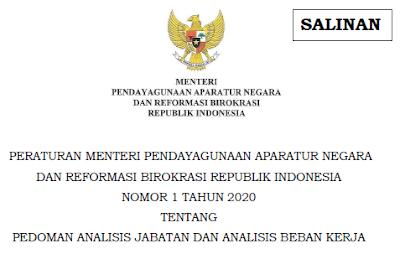 Pedoman Analisis Jabatan Dan Beban Kerja