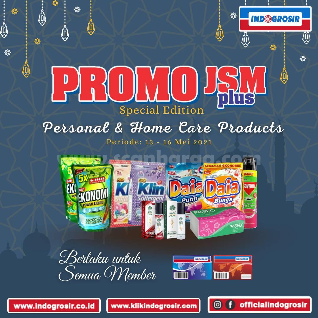 Promo JSM INDOGROSIR WEEKEND PLUS* Periode 12-16 Mei 2021