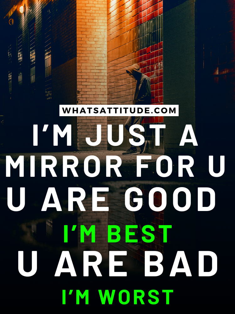 Best Attitude Quotes For Boys