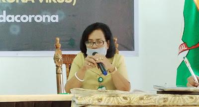 Juru Bicara Tim Covid-19 dr. Katrinje Notanubun