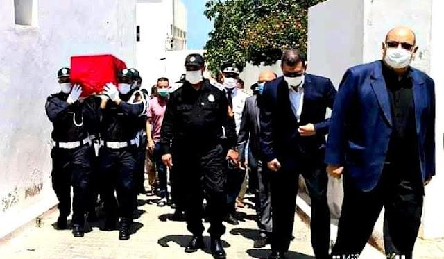 """الحموشي ينعى وفاة الشرطي """"عبد السلام"""" ويمنحه ترقية استثنائية (صورة)"""