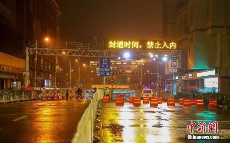 "#WuhanCoronaVirus:  Wuhan ""Lockdown"" Penduduk Wuhan China Kini Jadi Tahanan"