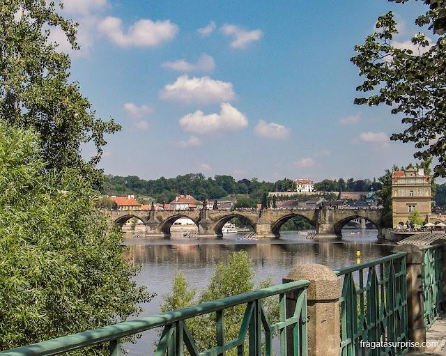 Ponte Carlos, em Praga, República Tcheca