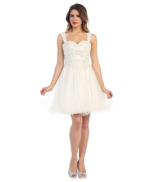 vestidos cortos de fiesta para señoras de 60 años