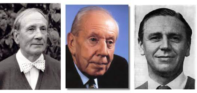 Geoffrey Bush, Malcolm Arnold, Peter Wishart