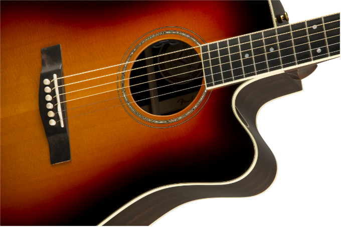 đàn guitar Fender TPD-2CE Dreadnought