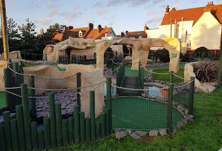 Fantasia Adventure Golf course on Sea Road in Felixstowe