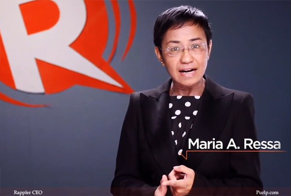 Thinking Pinoy: 'Rappler bended constitution to avoid bankruptcy