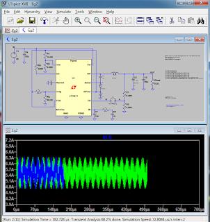Screenshot 5 : LTspice XVII | Software Elektronika
