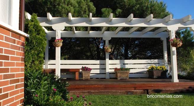 techos pergolas para jardin inspirational. Black Bedroom Furniture Sets. Home Design Ideas