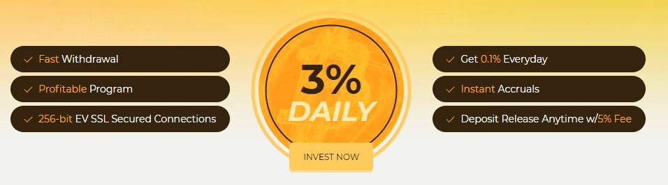Инвестиционный план Bitstant