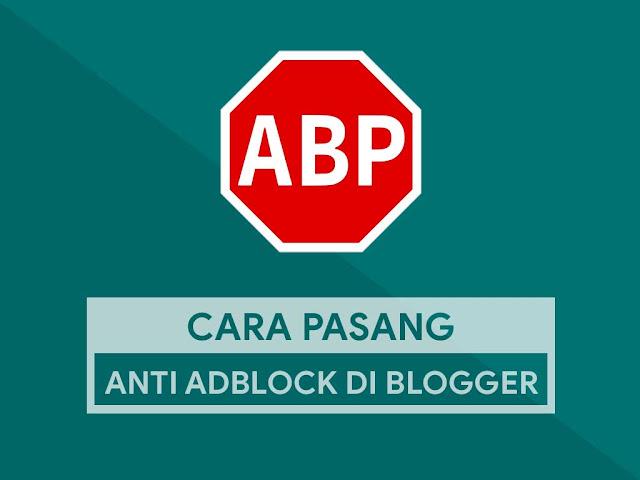Cara Memasang Anti Adblock