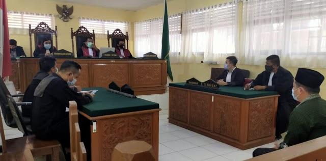 Hakim PN Vonis Empat Bulan Penjara Kades Talang Jerinjing