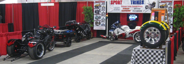 Motorcycle Trade Show Sport Bike Trikes