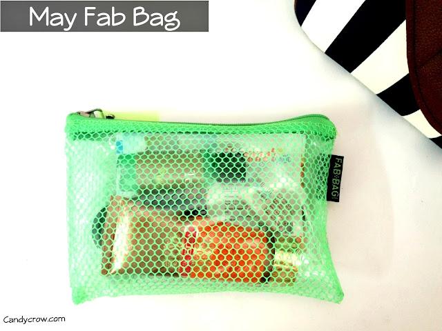 May 2016 Fab Bag Review