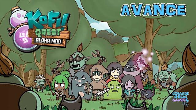 Avance de Kofi Quest Alpha Mod