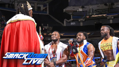 WWE Tag Team Kofi Kingston New Day King Booker T Tag The Bar