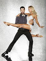 Drew Scott with Emma Slater