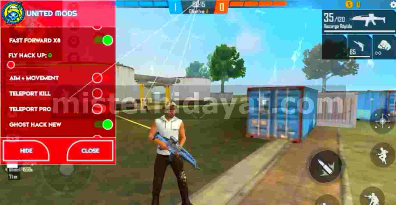 Apk Free Fire United Mods Terbaru Auto Headshot Anti Banned
