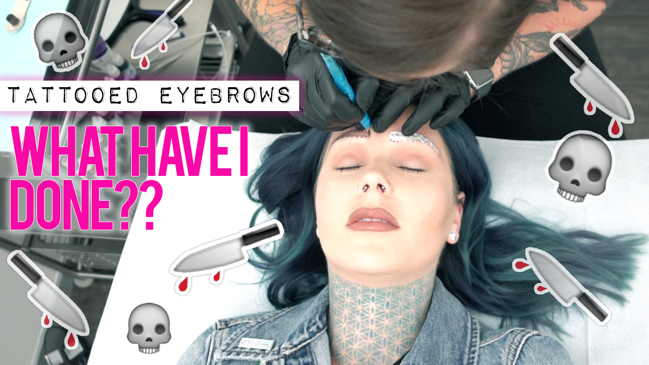 Tattooing My Eyebrows Kristen Leanne Style