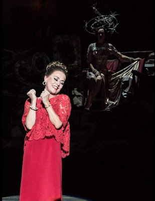 Tracie Bennett as Solange, Follies, National Theatre (photo Johan Persson)