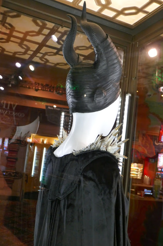 Maleficent Mistress of Evil costume horns back