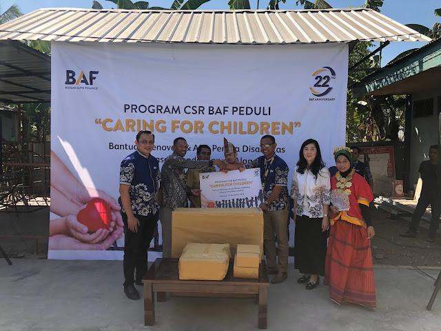 CSR BAF Peduli Hadir Wujudkan Mimpi Anak Bangsa