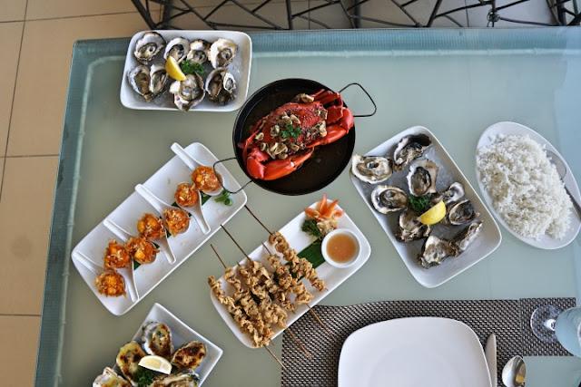 oyster bay seafood restaurant, best seafood restaurant mandaue