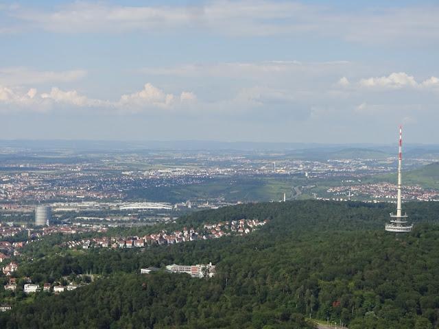 Mirantes e vistas panorâmicas de Stuttgart