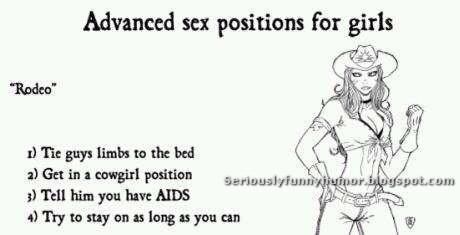 Advanced sex positions for girls - Rodeo style