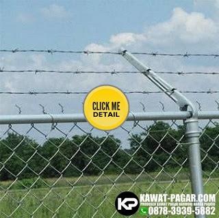 kawa pagar harmonika untuk kurung area