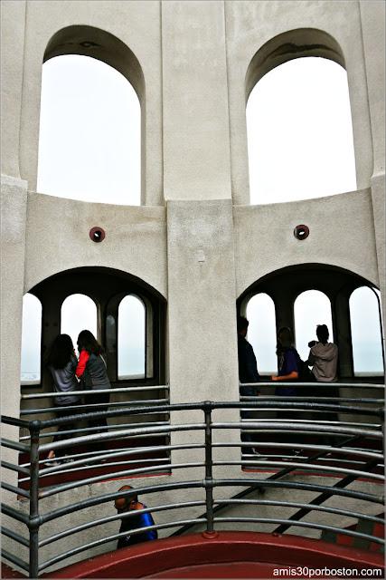Observatorio de la Torre Coit en San Francisco
