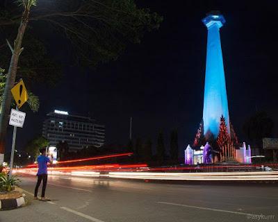 Monumen Mandala Pembebasan Irian Barat Kota Makassar Photo @asykurrr