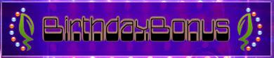 Der Gutscheincode vom 18. März bis 22. März, welcher BirthdayBonus lautet. Einfach bei der Kasse ins Gutscheinfeld eintragen und voilà!