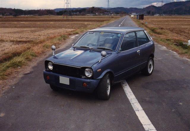 Mazda Chantez, Chanter, kei car, JDM, mały samochód