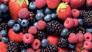 mixture of berries