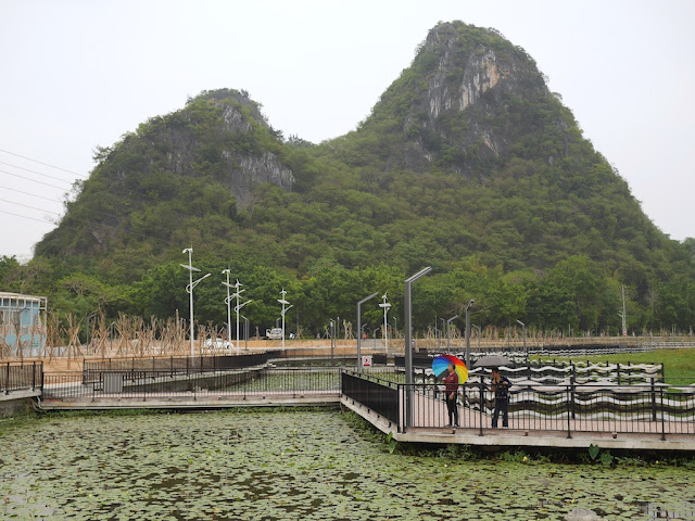 bridge at Panlong Lake Scenic Area in Yunfu